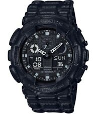 Casio G-Shock *GA100BT-1A Black Out Texture Anadigi Watch for Men COD PayPal
