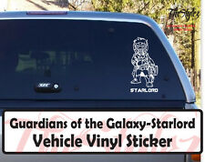 Guardians of the Galaxy Starlord Vehicle Action Vinyl Wall Sticker