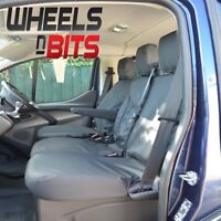 WNB® Ford Transit Custom 2014> 100% Fit Tailored Heavy duty Nylon Van Seat Cover