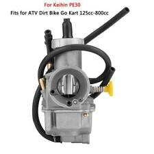 30mm Carburetor Carb For Keihin PE30 Scooter ATV Dirt Bike Go Kart 125cc-800cc
