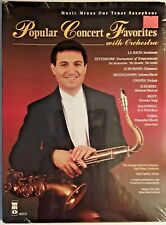 Music Minus One For Tenor Sax - Play Along, With Orchestra Accompaniment