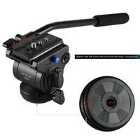 Photo Studio Fluid Drag Head Tripod Handle Grip Holder for DSLR Camera Camcorder