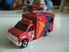 Matchbox Ambulance in Red