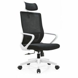 Office Mesh Chair Luxury Ergonomic Adjustable Executive Mid-Back Mesh Chairs UK