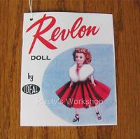 Reproduction Made For 1950/'s Deluxe BETTY THE BEAUTIFUL BRIDE Booklet// TAG #1