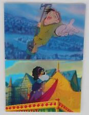 Skybox 1996 The Hunchback of Notre Dame 3D Motion Card  2 Card Chase Set (1-2)