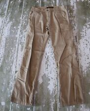 OLD NAVY Mens Ribbed Lightweight Dark Khaki Casual Jeans Pants 28 X 30