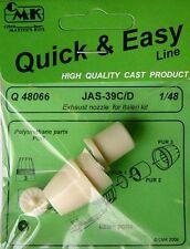 CMK 1/48 SAAB jas-39c / D dei Exhaust Nozzle for Italeri # q48066