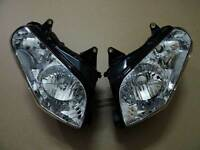 GL1800 Assembly 2001-2006 Headlamp Front Clear For Honda Headlight 04 2003 2002