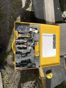 REMS MINI-PRESS ACC LI-ION PLUS 14.4V STEEL CASE- 4 Jaws, 2x Batteries, Charger
