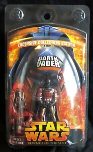 Darth Vader Lava MOC Revenge of the Sith Hasbro Exclusive in Clamshell ROTS
