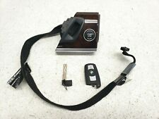 2007-2013 BMW X5 E70 IGNITION SWITCH INSERT PUSH START/STOP BUTTON W/KEY FOB OEM