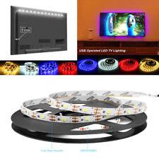 0.5/1/2/3/4/5M USB LED Strip Light RGB 2835 TV Back String Lamp Colour Changing