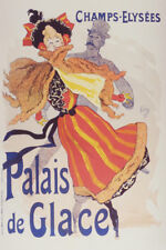 Palais de Glace Iceskating Champs Elysees French Art Print Poster 12x18