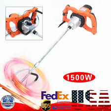 1500W Electric Putty Powder Mixer Paint Shaker Single Rod 6 Gears Variable Speed
