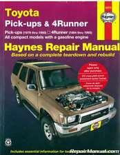 Haynes Toyota Pickup and 4Runner 1979-1995 Repair Manual : H92075