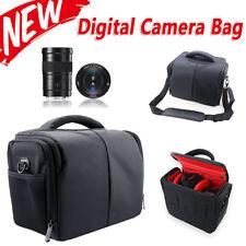 SLR DSLR Lens Shoulder Camera Carry Case Bag For Nikon Sony Canon EOS+Rain Cover