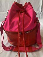 EUC Rare Lululemon Pink & Red Ballet/Yoga/Gym Bag