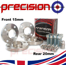 Peugeot 406 V6 HDI 20mm Hubcentric Alloy Wheel Spacers Kit 4x108 65.1mm