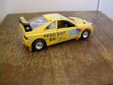 Jouet Burago: voiture collection Peugeot 405 turbo 16, échelle 1/24è