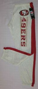 San Francisco 49ers Womens Strong Play Lightweight Sweatpants S - NFL Majestic