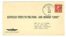 1928 COVER LINDBERGH U.S. POST OFFICE LINDBERG,KY WRONG SPELLING AAMC #230b 4/17