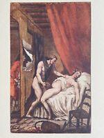 de Latouche Erotic Akt Vagina Voyeur Spanner Breast Sex antique Love Art 1748