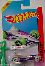 Case G/H 2014 i Hot Wheels CLOUD CUTTER #188☆Chrome/Purple;Glow Dark☆Night Storm