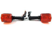 Rear Pair turn signal indicator Blinker Winker 83-86 Honda XL600R XL 600 R