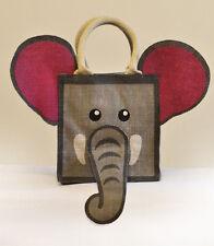 Jute Elephant Bag