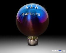 NRG Honda Ball 49mm Shift Knob 5 Speed - Titanium w/ NRG Logo - Part # SK-310TI