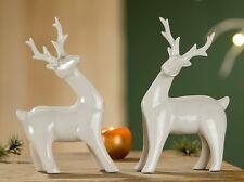 Gilde *Rentier Paar* 2er Set 18 cm Deko Figur Weihnachten 20575O