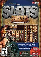 """WMS Slots: Spartacus PC DVD. Brand New Sealed """" FREE SHIPPING"""""""