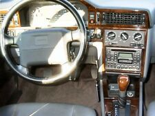 VOLVO 850 NEW INTERIOR SET BURL WOOD DASH TRIM KIT FIT 1993 1994 1995 1996 1997