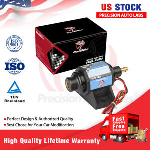 "Universal Advanced 5-9PSI Fuel Pump Electric Gas Diesel Inline Low Pressure 3/8"""