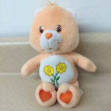 Care Bears Friend Bear 2002 Beanie Plush Stuffed Animal Euc8� Ar163