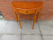 A Yew Half Moon Table ***DELIVERY AVAILABLE***