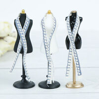 1:12 Dollhouse mini mannequin ruler set simulation dress form model toyWGB Mw