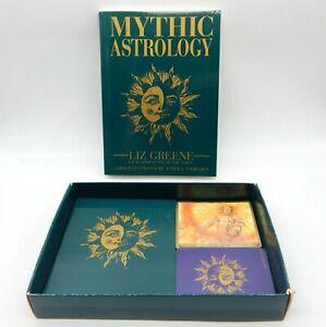 Vintage Mythic Astrology - Liz Greene Cards - Book & Notepad