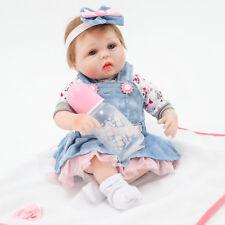 Fatto A Mano 45 CM Bambole Reborn Realistico Neonato Silicone Bambole Regalo