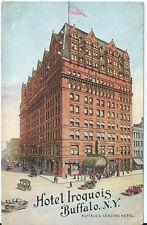 Postcard - Hotel Iroquois Buffalo N.Y - Buffalo's Leading Hotel