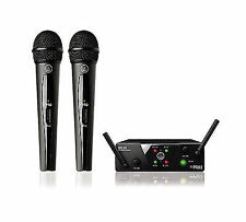 AKG Wms40 Mini2 Dual Wireless Microphone System 864.735 / 864.85 MHz