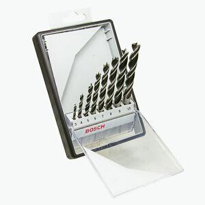 Bosch Professional Robust Line Holzbohrer-Set 8 tlg. Ø 3 mm - 10 mm