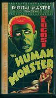 THE HUMAN MONSTER (1939) - Bela Lugosi Classic - Remastered VHS