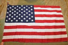 "Original Vietnam War Era U.S. National 50 Star Printed Cloth Flag, 16"" by 10"""