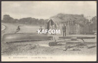 Southampton Postcard. The Seaweed Hut at Western Shore. 1907 Posted LL PC