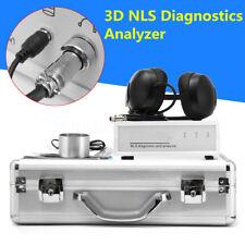 Latest 3D NLS Diagnostics Sub Body Health Bioresonance Analyzer Quantum Magnetic