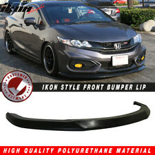 Fits 14-15 Civic 2DR Coupe IKON Style Front Bumper Lip Splitter - PU Urethane