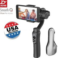 Zhiyun Smooth-Q 3-Axis Handheld Gimbal Stabilizer iPhone SAMSUNG Black
