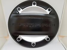 2016-2018 Camaro OEM GM Replacement Fuel Door Black with Silver Inserts 23506592